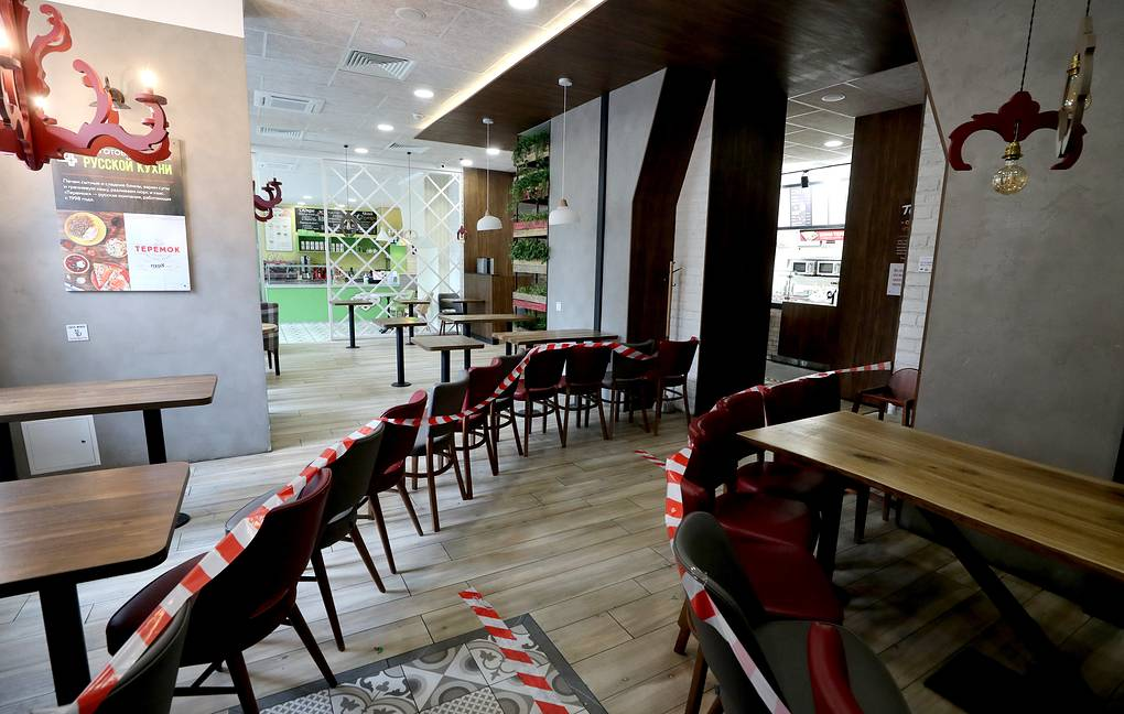 Рестораны и кафе могут открыть на следующем этапе смягчения ограничительных мер в Москве